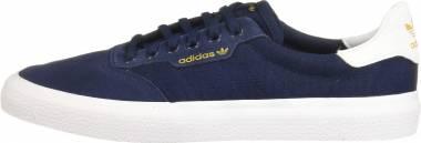 Adidas 3MC Collegiate Navy/White/Collegiate Navy (Suede) Men
