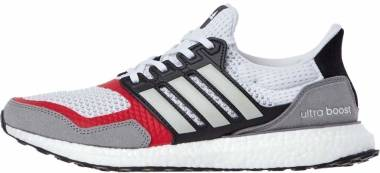 Adidas Ultraboost S&L - Cloud White / Grey Two / Scarlet (EF2027)