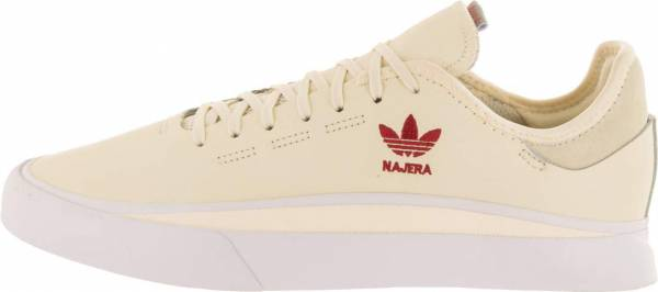 Adidas Sabalo - Core White Footwear White Power Red