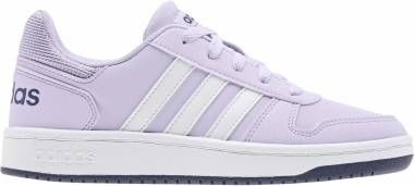 Adidas Hoops 2.0 - Purple Tint Ftwr White Tech Indigo