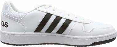 Adidas Hoops 2.0 - White Blanco 000 (F34841)