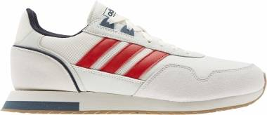 Adidas 8K - Chalk White Scarlet Legend Ink