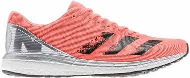 Adidas Adizero Boston 8 - Coral/ Black/ White (EG7893)