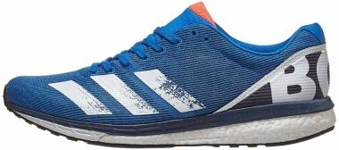 Adidas Adizero Boston 8 - Glory Blue Core White Trace Blue F17 (EG7895)