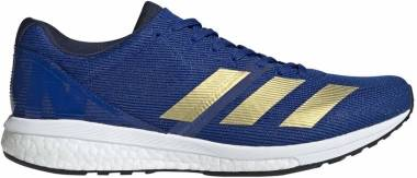 Adidas Adizero Boston 8 - Blue Collegiate Royal Gold Met Ftwr White Collegiate Royal Gold Met Ftwr White (G28859)
