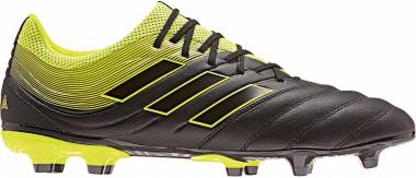 Adidas Copa 19.3 Firm Ground - Negro (Core Black/Solar Yellow/Solar Yellow Core Black/Solar Yellow/Solar Yellow)