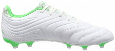 Adidas Copa 19.3 Firm Ground - White/Solar Lime/White (BB9188)