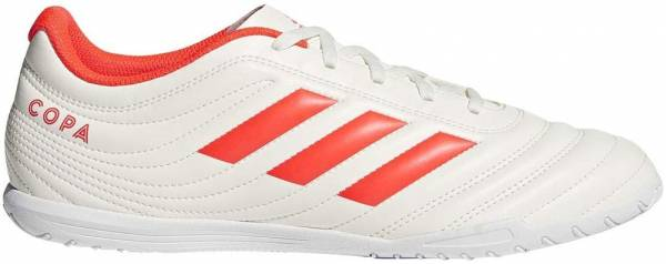 Adidas Copa 19.4 Indoor Off White/Solar Red/Off White