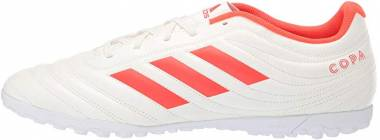 Adidas Copa 19.4 Turf - Mehrfarbig (Off White/Solar Red/Off White D98070)