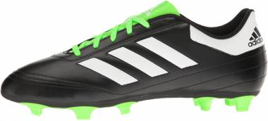 Adidas Goletto 6 Firm Ground - Black/White/Solar Green (BB4841)