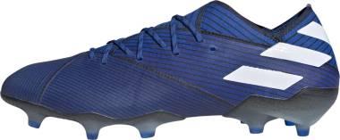 Adidas Nemeziz 19.1 Firm Ground - Blå