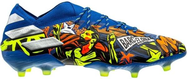 Adidas Nemeziz Messi 19.1 Firm Ground - blau (EH0557)
