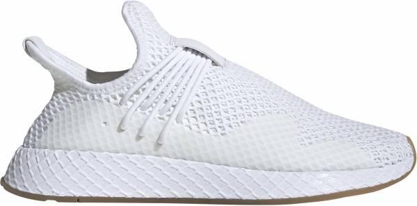Adidas Deerupt S sneakers in white
