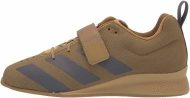 Adidas Adipower 2 - Wild Moss/Grey/Acid Yellow (FX0573)