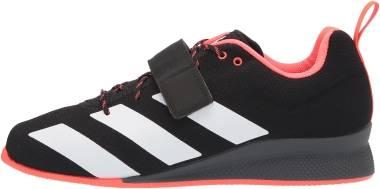 Adidas Adipower 2 - Black/Grey/Signal Green (GZ2859)