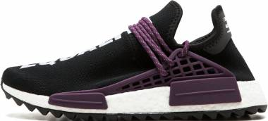 Adidas Pharrell Williams Hu Holi NMD MC - BLACK/DEEPEST PURPLE/CORE BLAC