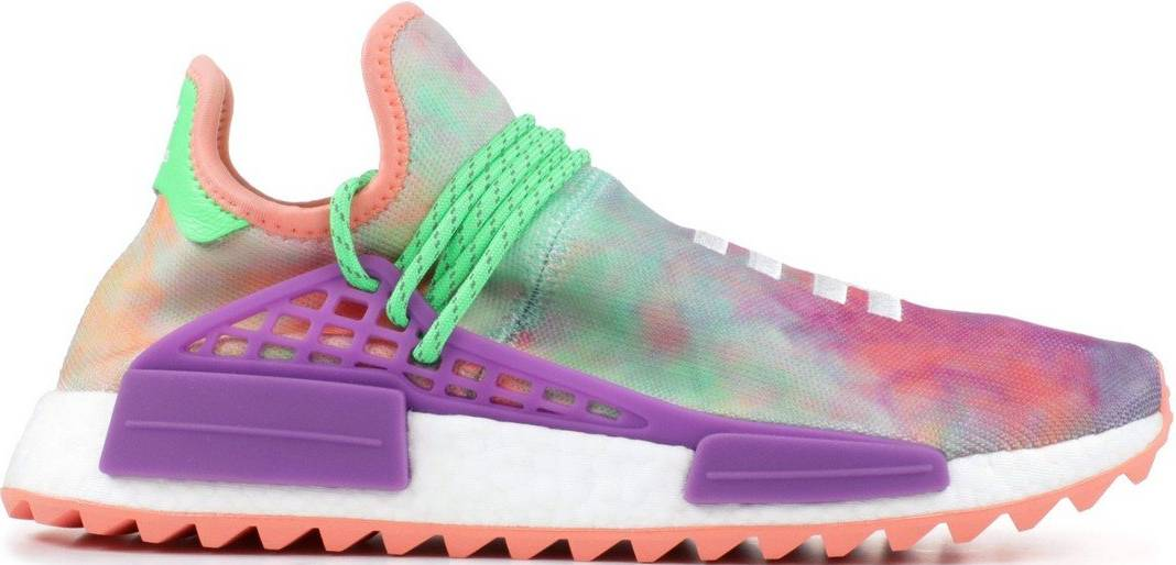 pharrell williams shoes white and pink