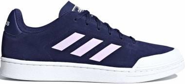 Adidas Court 70s - Blau Azuosc Ftwbla Ftwbla 000