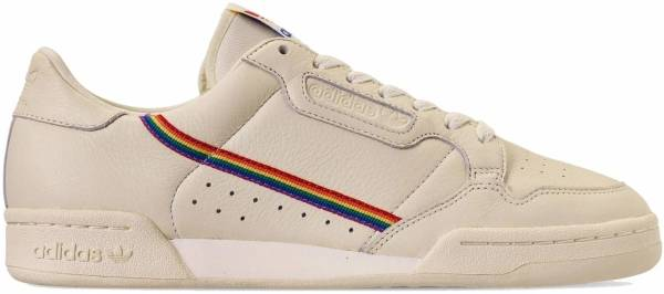 ADIDAS CONTINENTAL 80'S Pride Trainers Off White Schuhe
