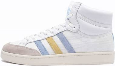 Adidas Americana Hi - Ftw White/ Glow Blue/ Easy Yellow