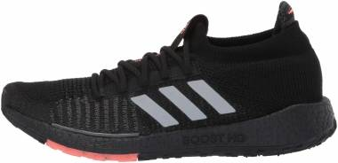 Adidas Pulseboost HD - Negro Gris Heather Signal Coral (EG0971)