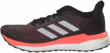 Adidas Solar Drive 19 - Black/ Grey/ Coral