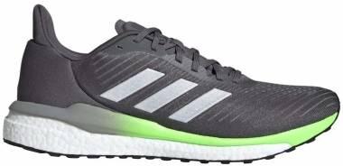 Adidas Solar Drive 19 - Grey Five / Silver Metalic / Signal Green (FW9610)