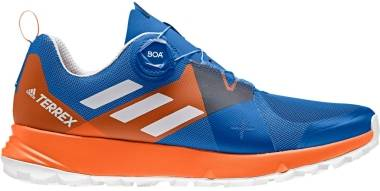 Adidas Terrex Two BOA - Blue Blubea Greone Orange 000 (DB0735)