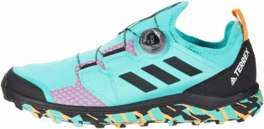 Adidas Terrex Agravic BOA - Acid Mint/Black/Screaming Pink (FY9457)
