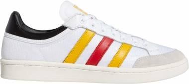 Adidas Americana Low - Blanc Jaune Or Rouge Foncã