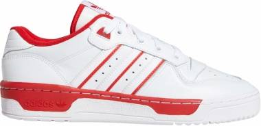 Adidas Rivalry Low - Weiß Ftwr White Ftwr White Scarlet 10013390 (EE4658)