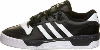 Adidas Rivalry Low - Core Black / Footwear White / Footwear White