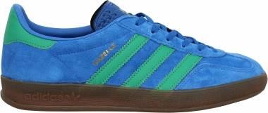 Adidas Gazelle Indoor - Bleu Turquoise Vert Sapin Gomme (EE5735)