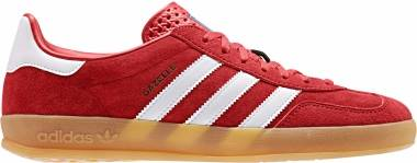 Adidas Gazelle Indoor - Rouge Blanc Rose