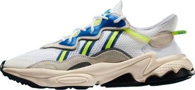 Adidas Ozweego - Footwear White Grey One Solar Yellow (EE7009)