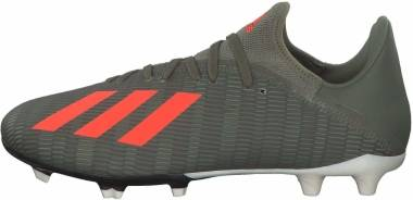 Adidas X 19.3 Firm Ground - Grün