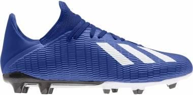 Adidas X 19.3 Firm Ground - Blau