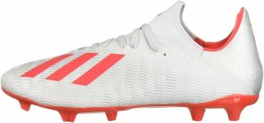 Adidas X 19.3 Firm Ground - Silver/Red