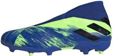 Adidas Nemeziz 19.3 Firm Ground Laceless - Blue (FV3985)