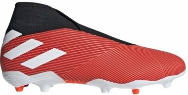 Adidas Nemeziz 19.3 Firm Ground Laceless - red