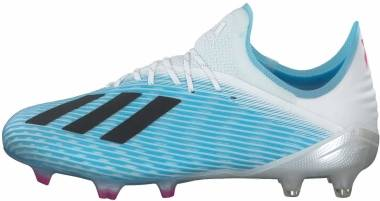 Adidas X 19.1 Firm Ground - Bright Cyan/Core Black/Shock Pink (F35316)