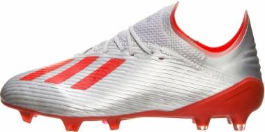 Adidas X 19.1 Firm Ground - Silver/Red