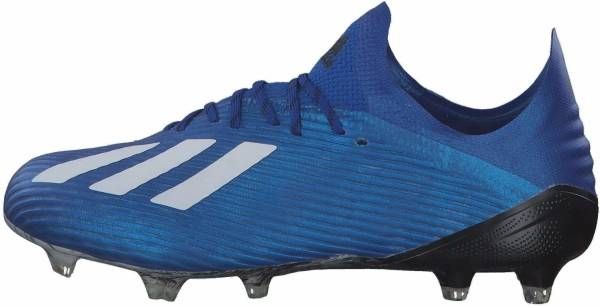 Adidas X 19.1 Firm Ground - blau (EG7126)