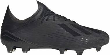 Adidas X 19.1 Firm Ground - Core Black/Utility Black/Silver Metallic (F35314)