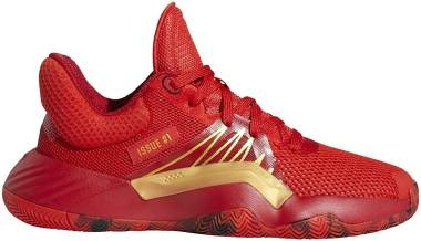 Adidas D.O.N. Issue #1 - Red/Power Red/Gold Metallic (EG0490)