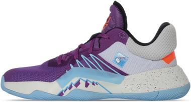 Adidas D.O.N. Issue #1 - Violet/blanc. (EG5666)