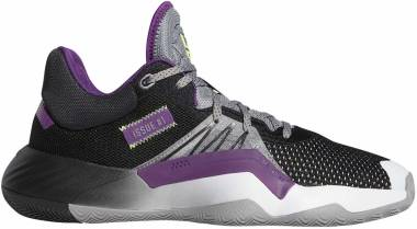 Adidas D.O.N. Issue #1 - Grey Black Glory Purple (EH2134)