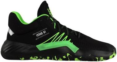 Adidas D.O.N. Issue #1 - Black,green (FU8257)