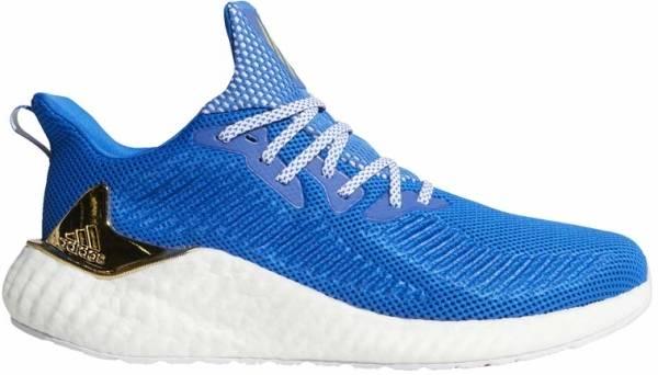 Adidas Alphaboost - blue/gold met./ftwr