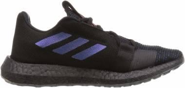 Adidas Senseboost Go - Core Black / Boost Blue Violet Metal / Legend Ink